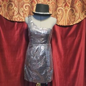 Small Silver Sequin Dress